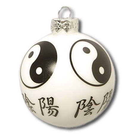 Yin Yang Christmas Ornament - Chinese Christmas Ornaments - Martial ...