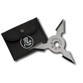 3 Point Silver Throwing Star