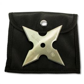 4-Point Chrome Shuriken