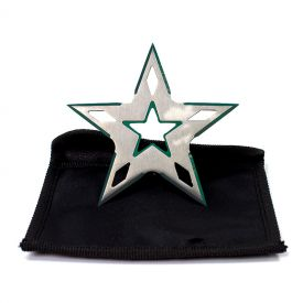 5 Point Green Edge Throwing Star