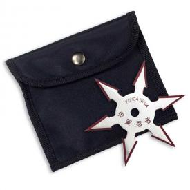 6-Point Red Edge Throwing Star