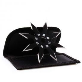 8-Point Black Ninja Star