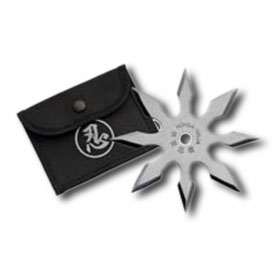 8 Point Silver Throwing Star