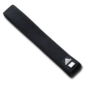Adidas Extra Wide Black Belt