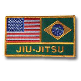American-Brazilian Jiu-Jitsu Patch (18 Left In Stock)