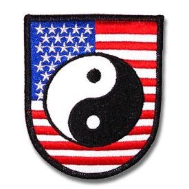 american yin yang patch ying yang patches chinese