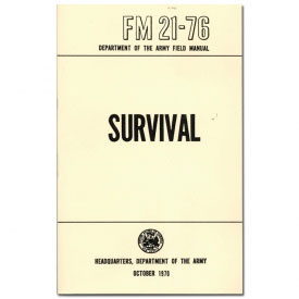 Army Survival Field Manual