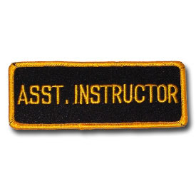 Asst. Instructor Patch (5 Left In Stock)