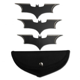 Bat Wing Throwing Set