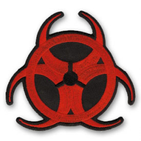 Bio Hazard Alert Patch
