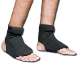 Black Cloth Instep Protector