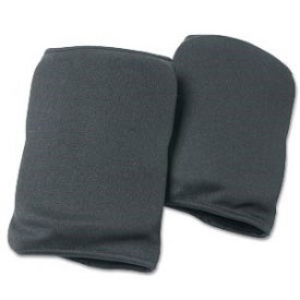 Black Cloth Knee Pads