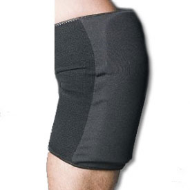 Deluxe Black Knee Pads
