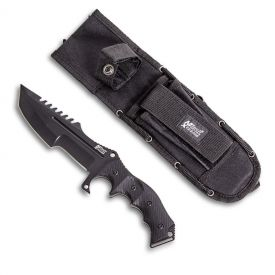 Black Fixed Blade Tactical Knife