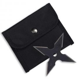 Black Four Point Throwing Star