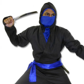 Black Ice Ninja Costume