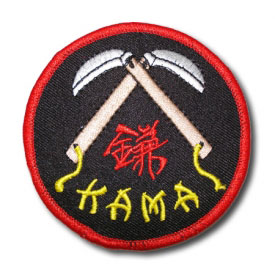 Black Kama Patch