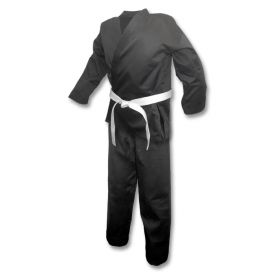 Black Karate Uniform (7oz)