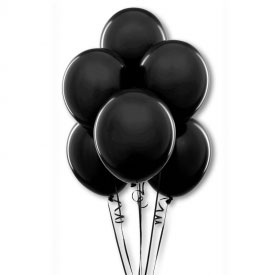 Black Ninja Party Balloons