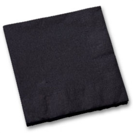 Black Ninja Party Napkins (20-Pack)