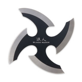 Black Ronin Throwing Star