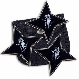 Black Shinobi Ninja Stars