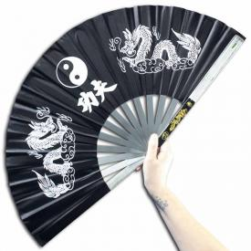 Black Steel Kung Fu Fan