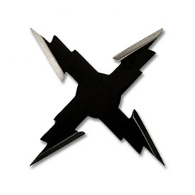 Black Thunder Four Point Star