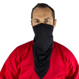 Black Urban Ninja Half Mask