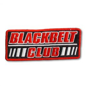 Blackbelt Club Patch