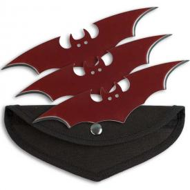 Blood Red Bat Throwers