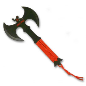 Blood Red Zombie Killer Axe