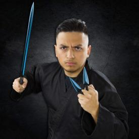 Blue Blade Kunai Sword