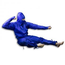 Blue Ninja Uniform