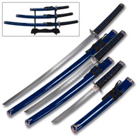 Blue Robin Katana Set