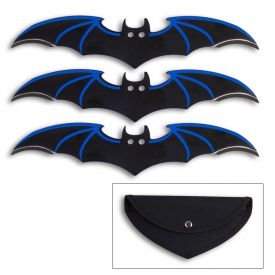 Blue Wing Bat Throwers