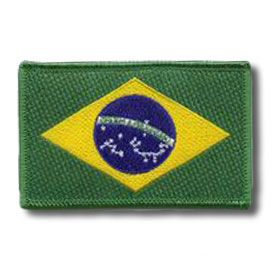 Brazilian Flag Patch
