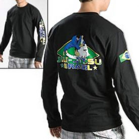Brazilian Jiu-Jitsu Long Sleeve T-Shirt