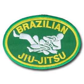 Brazilian Jiu-Jitsu Patch
