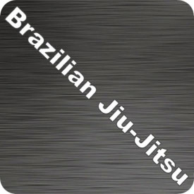Brazilian Jiu-Jitsu Text Vinyl Decal