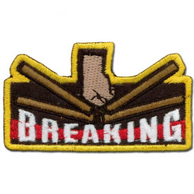 Breaking Boards Achievement Patch