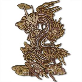 Brown Dragon Patch