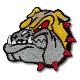 Bulldog Patch (7 Left In Stock)