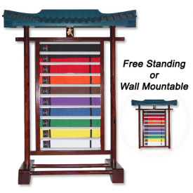 Bushido Belt Display