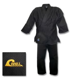 Cahill Single Weave Black Jiu-Jitsu Uniform