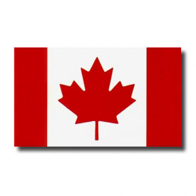 Canadian Wall Flag