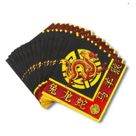 Chinese Dragon Napkins