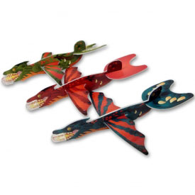 Chinese Dragon Party Gliders (12-Pack)