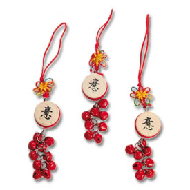 Chinese Drum Christmas Ornaments