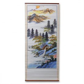 Chinese Shore Wall Scroll